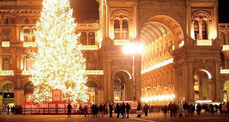 クリスマスのミラノ